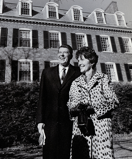 Gov. and Mrs. Ronald Reagan
